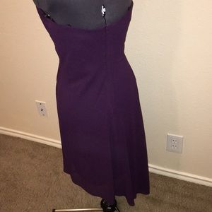 Laundry By Shelli Segal Dresses - NWT Laundry by Shelli Segal 8 Plum Dress Halter